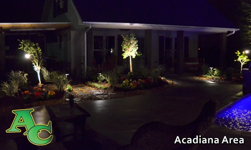 Acadiana Area Lafayette LA & outdoor lighting sprinkler systems in lafayette u0026 lake charles la ...